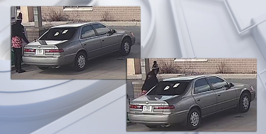 Recognize this man or car? Police say he pumped gas, did not pay for it
