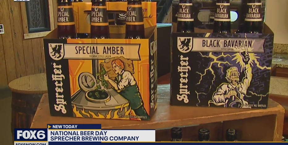Celebrate National Beer Day with visit to Sprecher Brewing Company