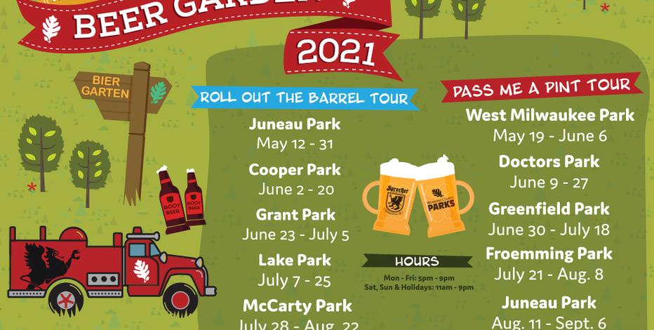 MKE Parks 2021 Traveling Beer Garden schedule announced