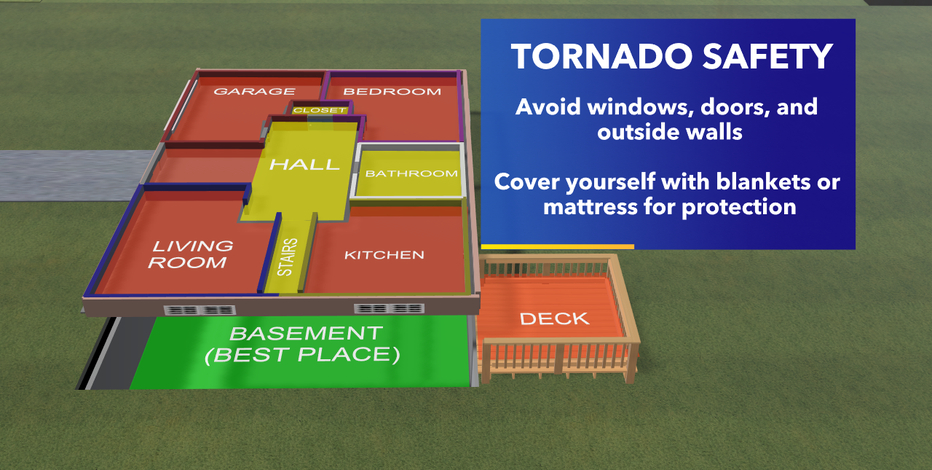 Know where to go in case of severe weather for Safe Place Selfie Day