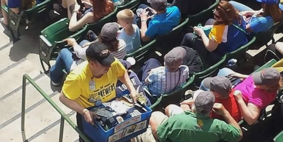 Fans welcomed into ballpark for opening day, but not beer vendors