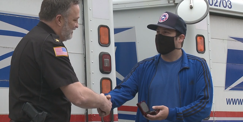 'I could feel it:' Cedarburg mail carrier saves man's life after fall