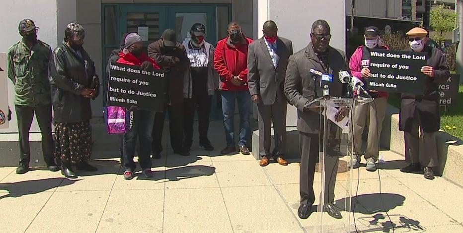 Faith leaders rally for peace on anniversary of Dontre Hamilton's death