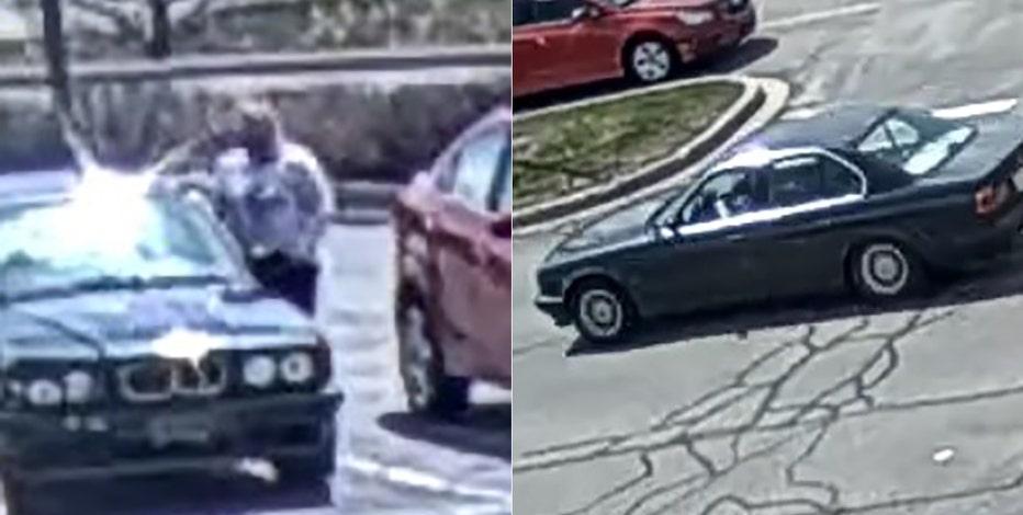 Suspected license plate thief sought by Menomonee Falls police