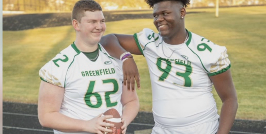 'A brother:' Greenfield DE moves in with teammate, closer to school