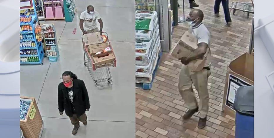 Menomonee Falls police seek men who stole laundry detergent from Woodman's