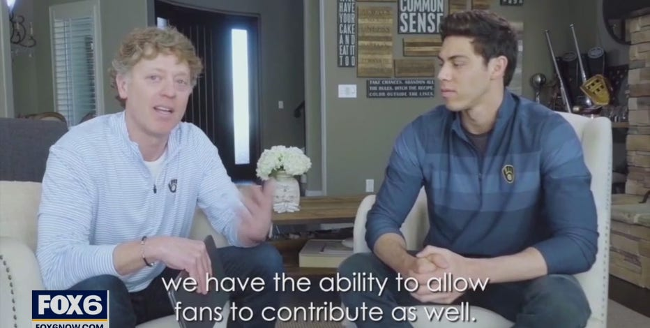 Christian Yelich, Sargento challenge Brewers fans to join fight against hunger