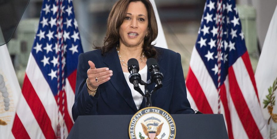 Kamala Harris in Milwaukee Tuesday