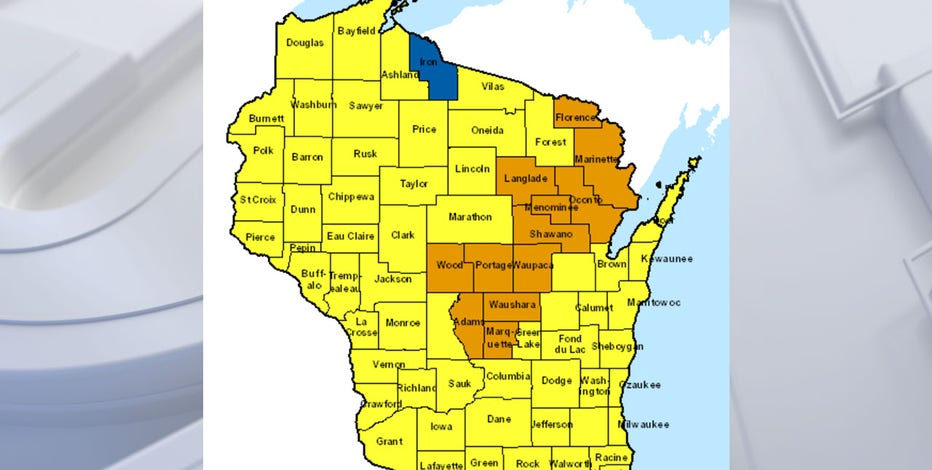 DNR: Fire danger in Wisconsin expected to be high into weekend