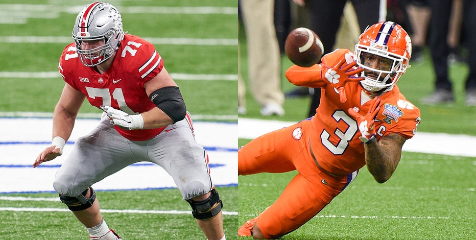 Packers draft Ohio State's Myers, Clemson's Rodgers