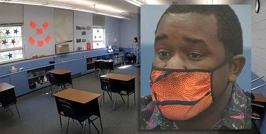 Teacher helps Milwaukee students through COVID, challenges