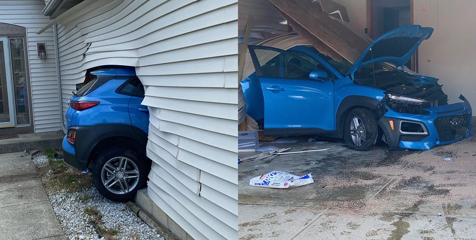 SUV crashes into Vilter Manufacturing building in Cudahy