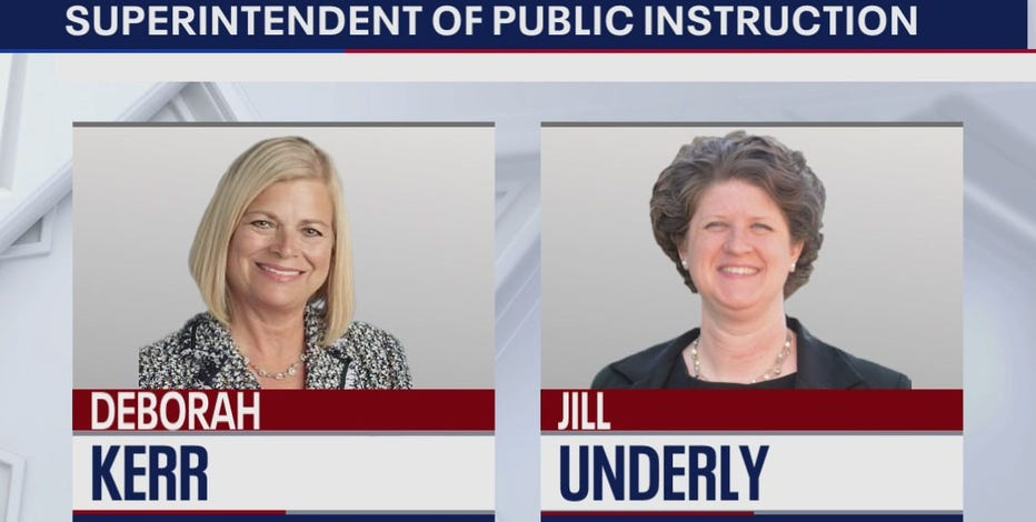 Jill Underly, Deborah Kerr square off to be WI education chief