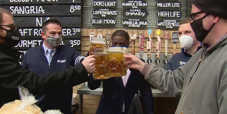 Milwaukee County kicks off beer garden season at South Shore Terrace