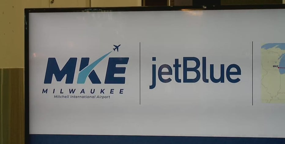 JetBlue to fly out of Milwaukee Mitchell Intl Airport starting 2022