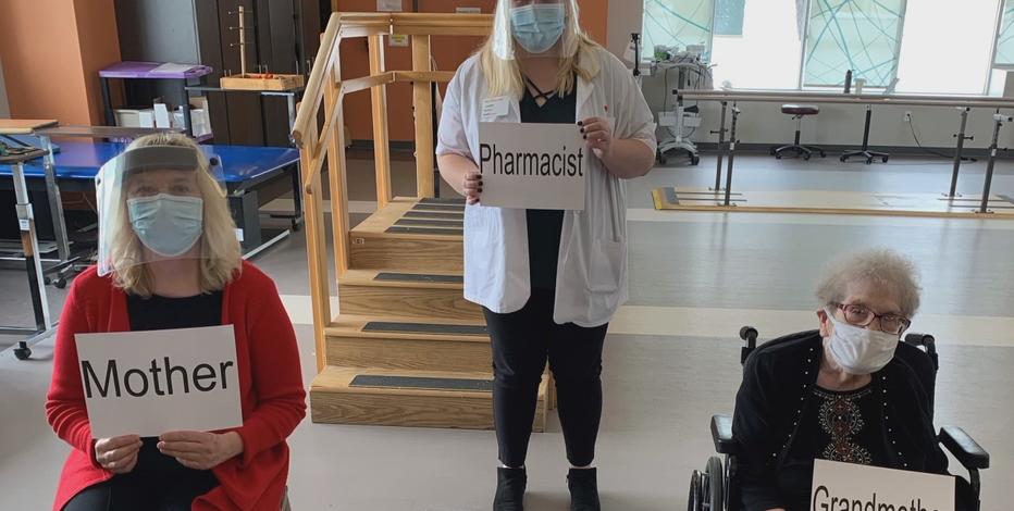 Milwaukee pharmacist gives COVID vaccine to mom, grandma
