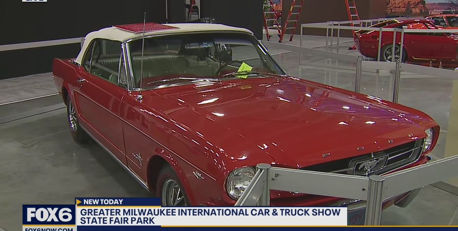The Greater Milwaukee International Truck and Auto Show starts Wednesday