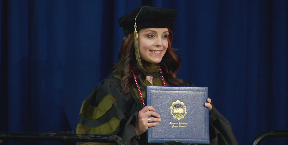 Spring graduation extra special for Concordia pharmacy grad