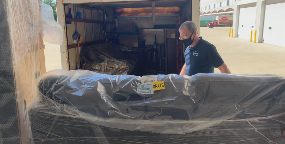 Steinhafels furniture donated to foster youth