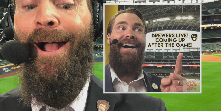 Dillard joins Brewers' TV broadcasts after 18 seasons as player