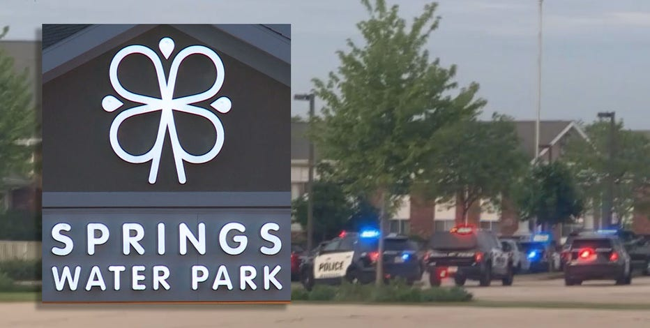 Springs Water Park security guard, teen scuffle