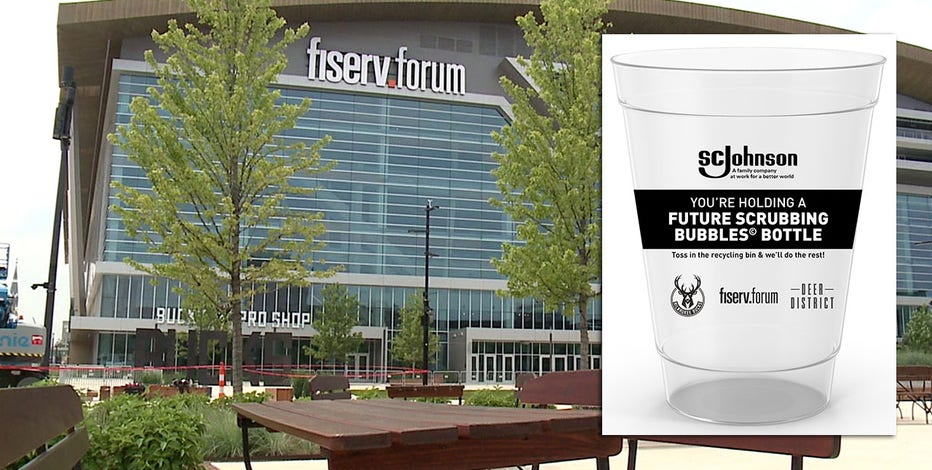 Fiserv Forum, SC Johnson recycling and cleaning initiative revealed