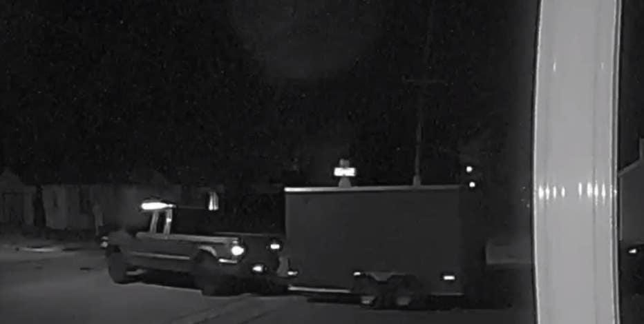 Racine landscaping truck, tools stolen