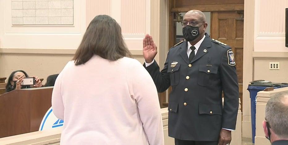 New Racine police chief sworn in