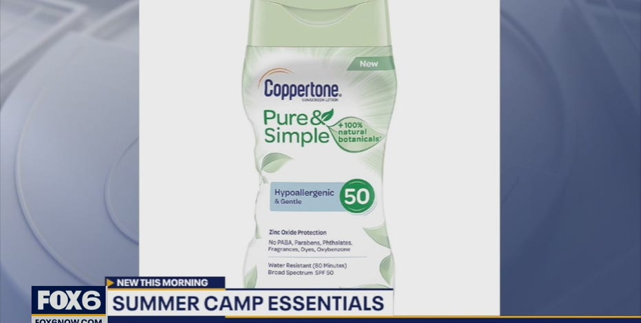 Must-have items for summer camp