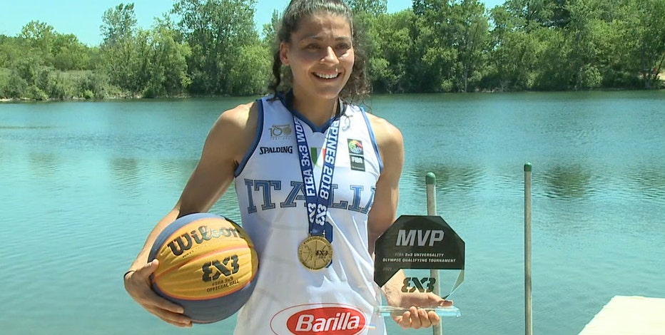 Badgers basketball alumna taking Olympic court for Italy