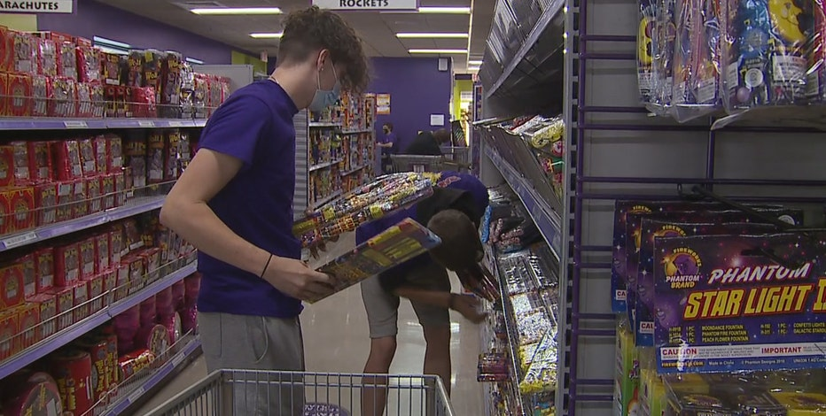 Potential fireworks shortage ahead of Fourth of July