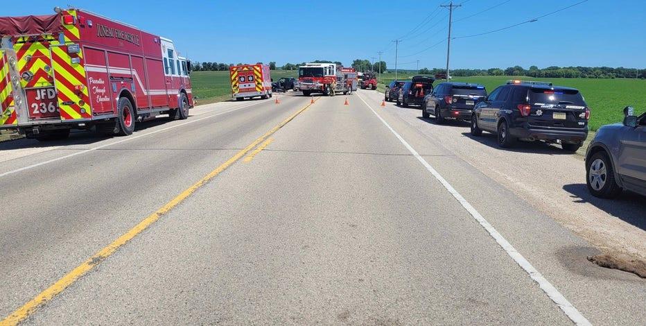 Crash near Horicon: Woman killed, 3 injured including child