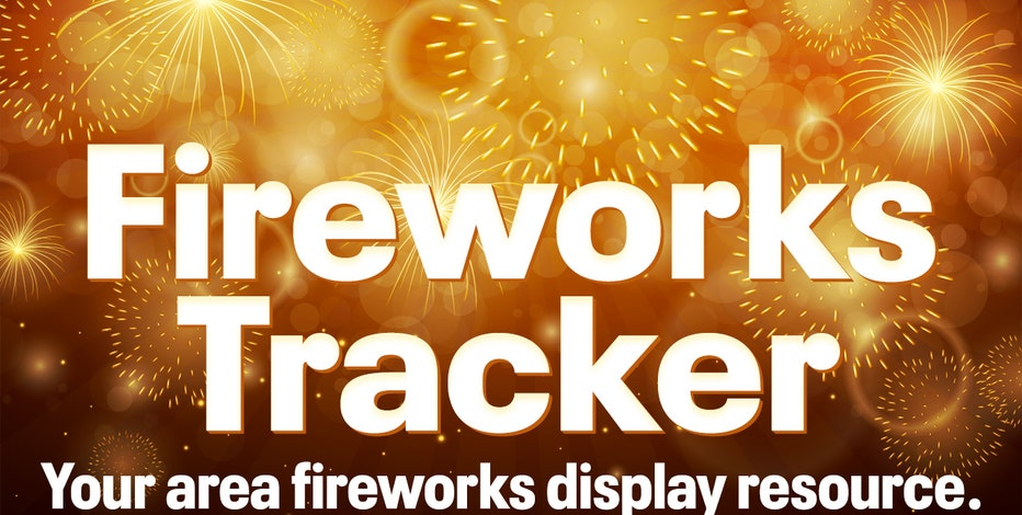 Southeast Wisconsin fireworks locations, times