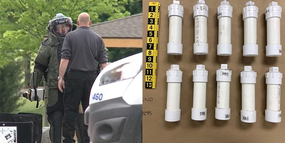 West Bend park suspicious items not explosive: police