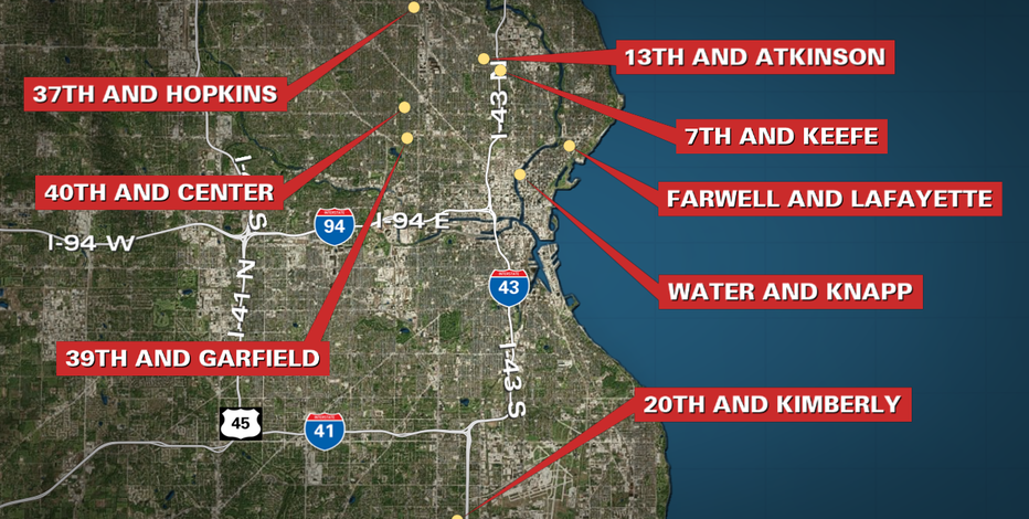 Milwaukee shootings: Police respond to 8 in 30 hours