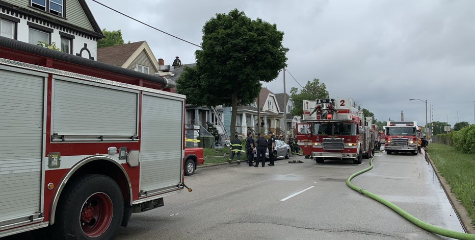 5th and Becher house fire: Thieves steal equipment off MFD truck