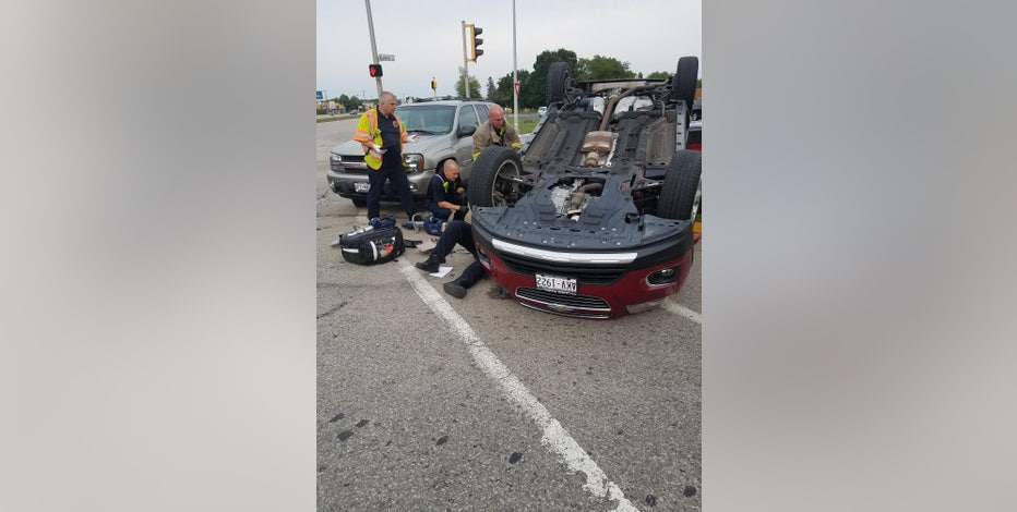 Mount Pleasant crash leaves 1 hurt, another cited