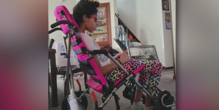 Wheelchair stolen from terminally ill teen