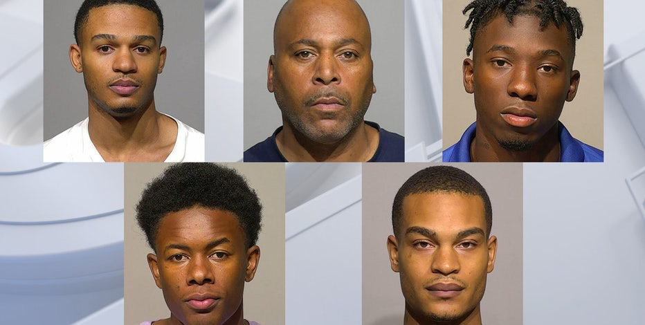 Explosives thrown at Milwaukee officers: 5 suspects now charged