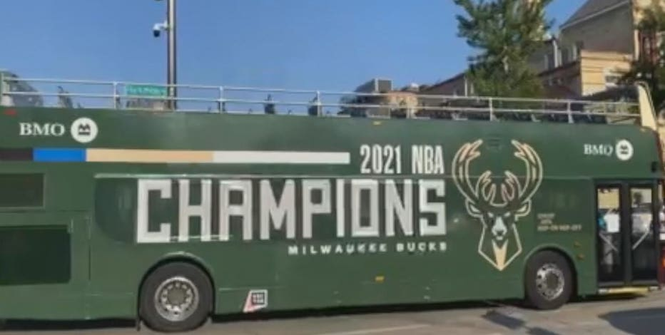 Bucks' victory parade 'culmination of everything we've been working for'