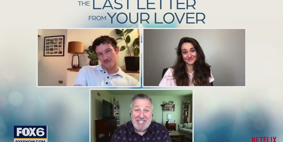 Gino talks with stars from 'The Last Letter From Your Lover'