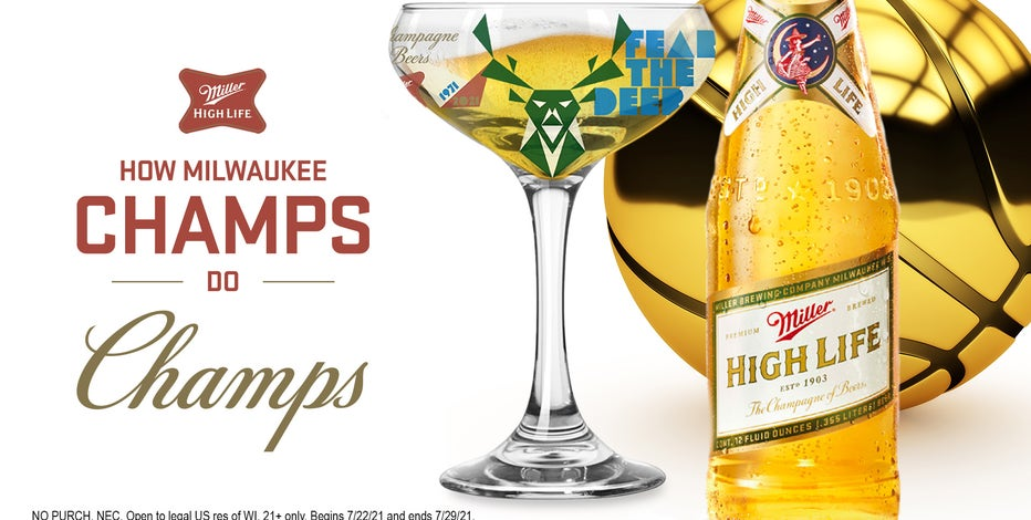 Miller High Life giveaway: Tweet to win Bucks coupe glasses
