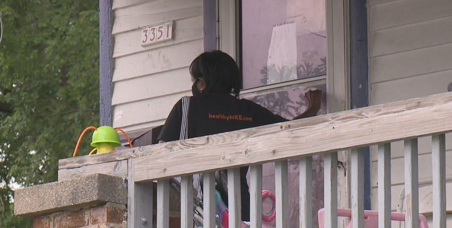 Door-to-door COVID vaccine effort in Milwaukee