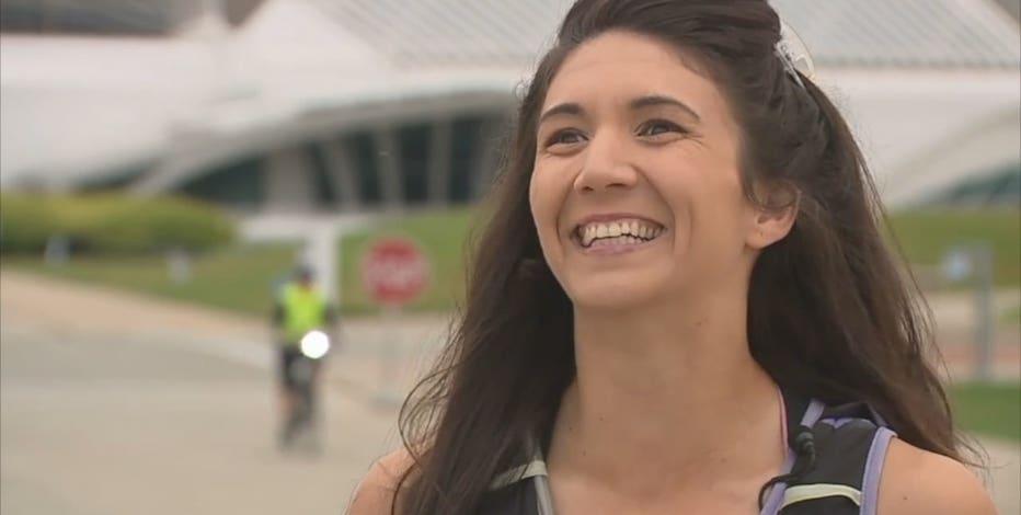 30 half marathons in 30 days: Milwaukee woman marks milestone birthday