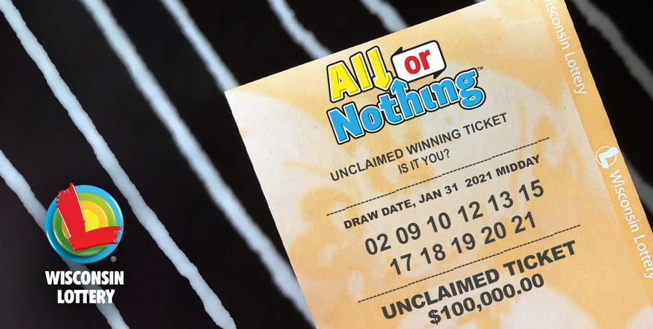 Unclaimed lottery ticket expires July 30, purchased in North Fond du Lac