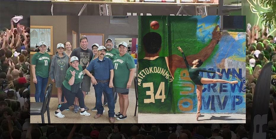 Milwaukee rallies behind Bucks' NBA Finals run