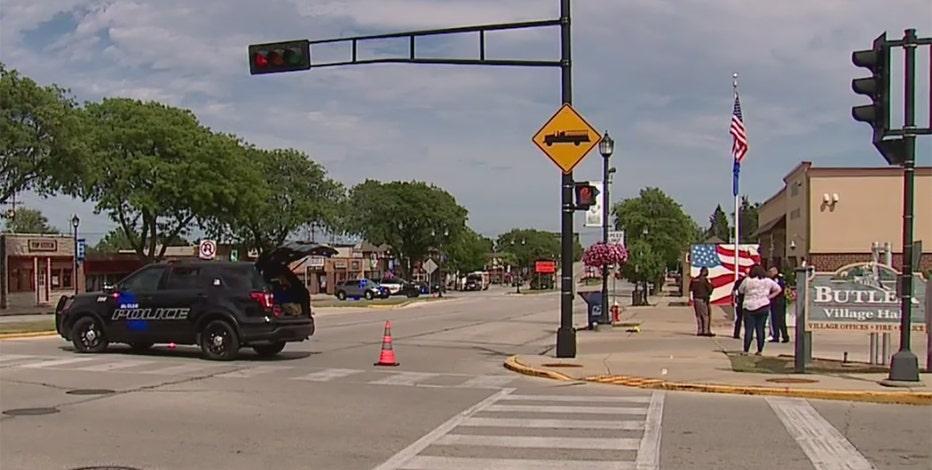Road rage shooting outside Butler Village Hall, police say