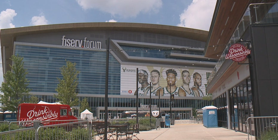 Bucks' Fiserv Forum watch party goes indoors for NBA Finals
