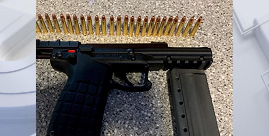 TSA intercepts gun at Milwaukee Mitchell International Airport
