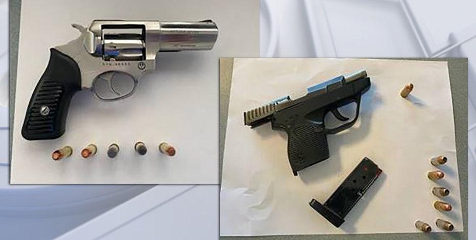 TSA: 2 handguns recovered at Milwaukee Mitchell International Airport